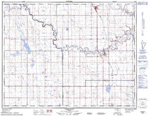 clear lake alberta map Clear Lake Alberta Angler S Atlas clear lake alberta map