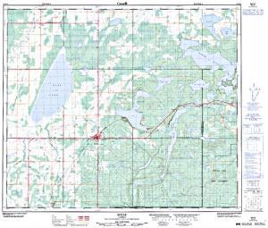 Big Johnson Lake Alberta Anglers Atlas - Johnson lake map