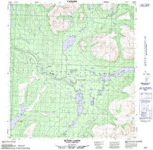 Tay lake yukon territory anglers atlas nts 50k map for tay lake yukon territory gumiabroncs Gallery