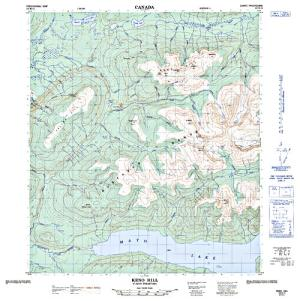 South mcquesten river yukon territory anglers atlas nts 50k map for south mcquesten river yukon territory gumiabroncs Image collections