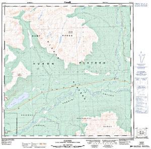 Kathleen river yukon territory anglers atlas nts 50k map for kathleen river yukon territory gumiabroncs Image collections