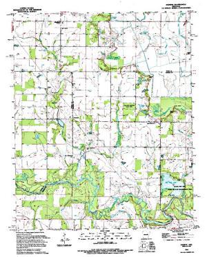 Free Arkansas Topographic Map.Lake Des Arc Dam Angler S Atlas