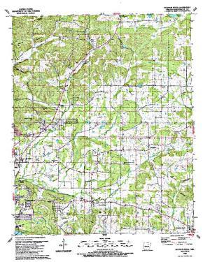 Free Arkansas Topographic Map.Lee Britten Lake Angler S Atlas