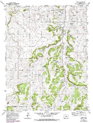 Kiowa Creek Watershed B 9 Dam Angler S Atlas