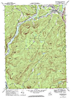 Gay New York Map.Gay Pond Angler S Atlas