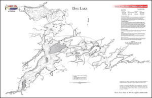 dog lake ontario map Dog Lake Ontario Angler S Atlas dog lake ontario map