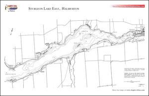 sturgeon lake ontario fishing map Sturgeon Lake Free Maps Angler S Atlas sturgeon lake ontario fishing map