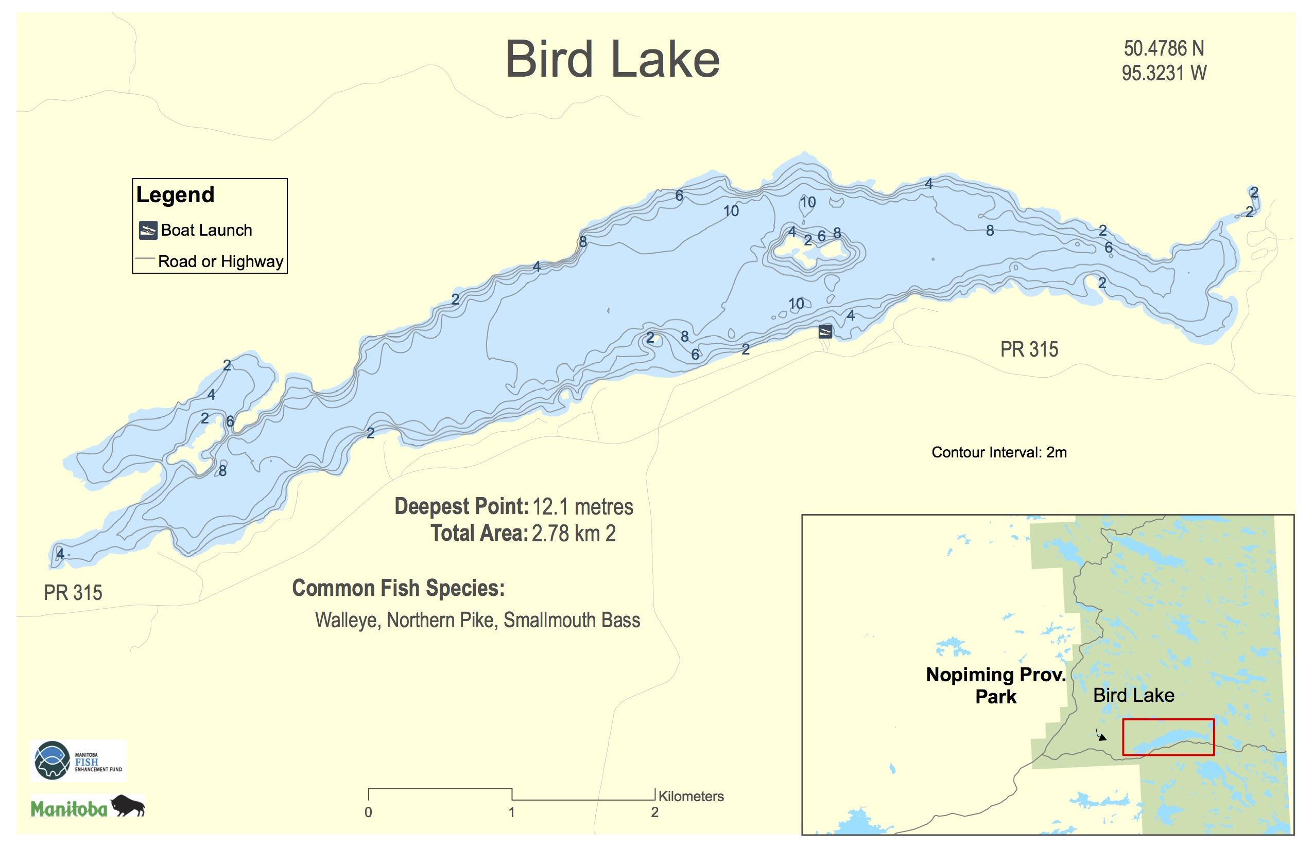 Bird Lake, Manitoba | Angler's Atlas