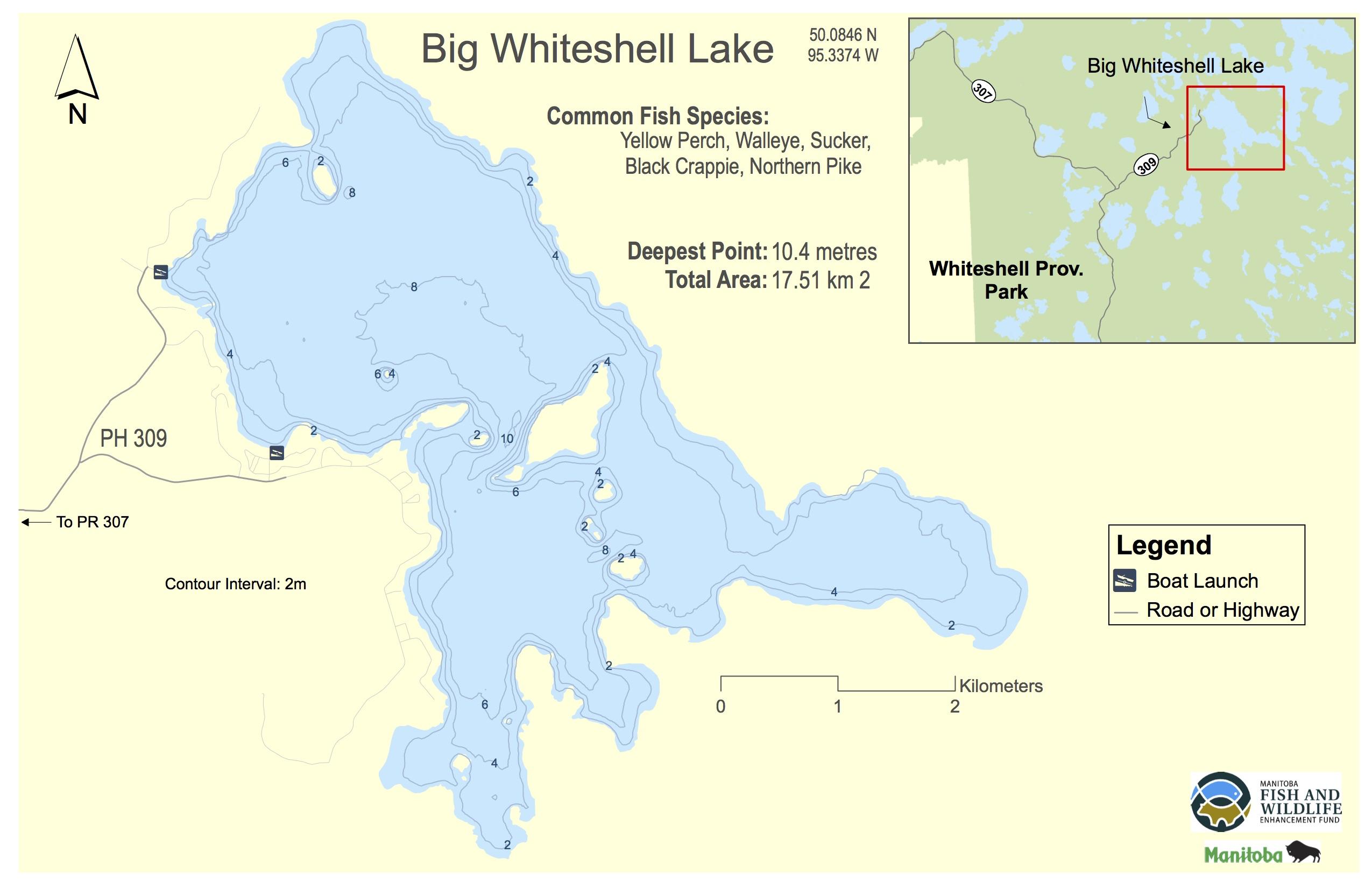 Big Whiteshell Lake, Manitoba | Angler's Atlas