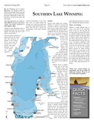 Lake Winnipeg Map Lake Winnipeg, Manitoba | Angler's Atlas