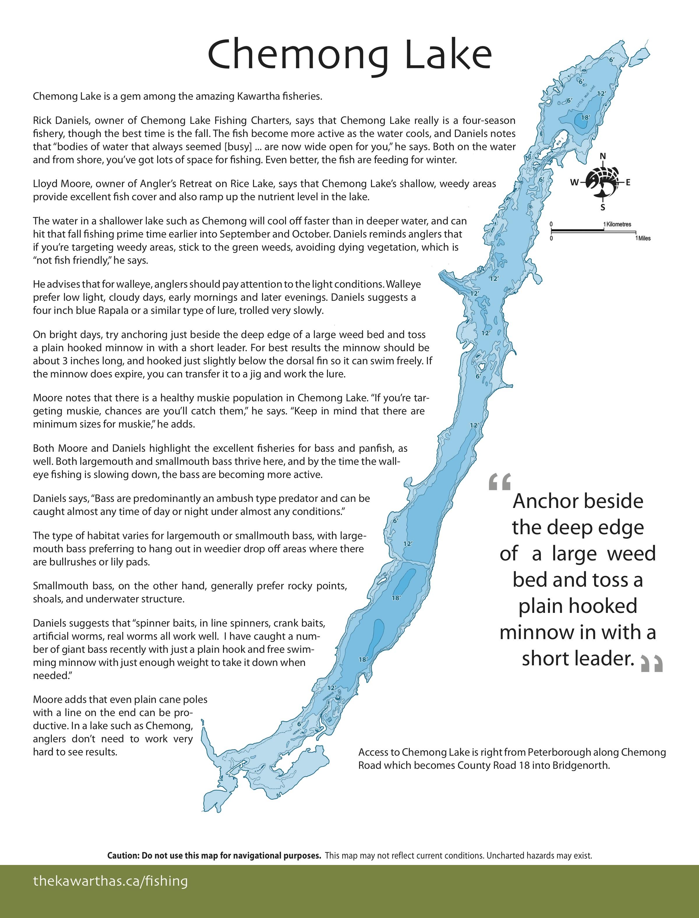 Chemong lake ontario anglers atlas nvjuhfo Images