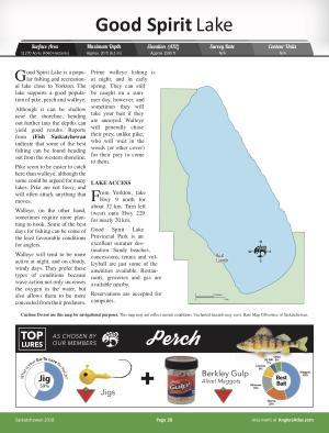 good spirit lake map Good Spirit Lake Free Maps Angler S Atlas good spirit lake map