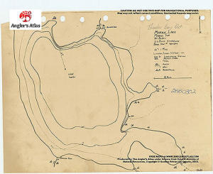 Marks Lake Ontario Anglers Atlas - Marks lake maps