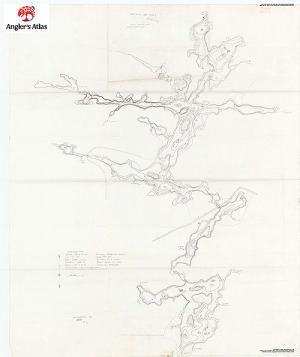 whitestone lake fishing map Whitestone Lake Ontario Angler S Atlas whitestone lake fishing map