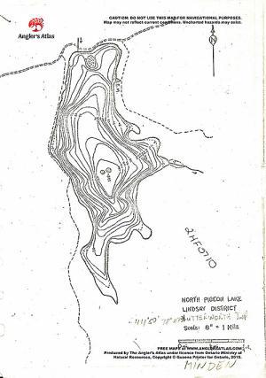 map of pigeon lake ontario North Pigeon Lake Free Maps Angler S Atlas map of pigeon lake ontario