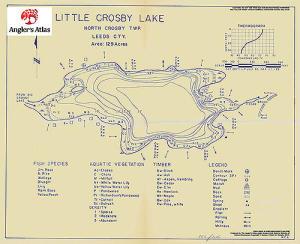 Little Crosby Lake Ontario Anglers Atlas
