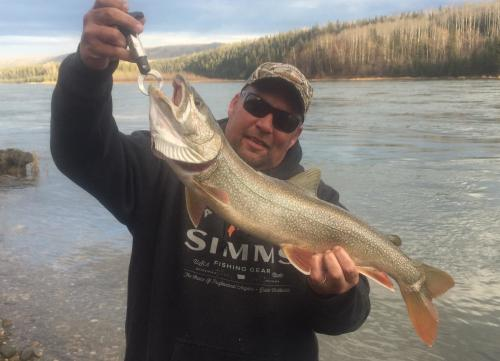 Photo thumbnail: Lake trout...