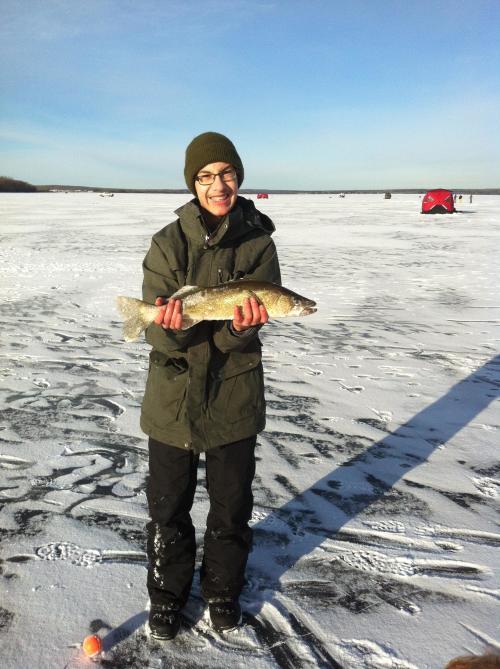 Photo thumbnail: Ice fish...