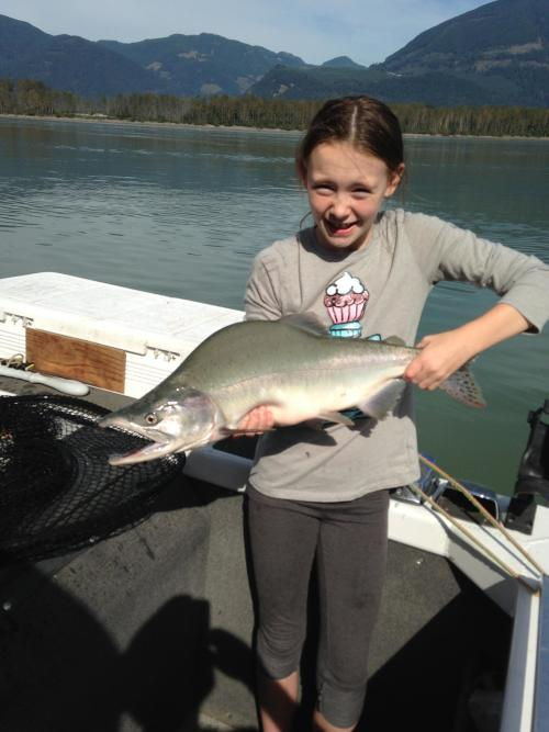 Photo thumbnail: Our daughter with her first...