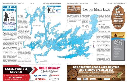 Lac des milles lacs angler 39 s atlas for Garage des milles lacs